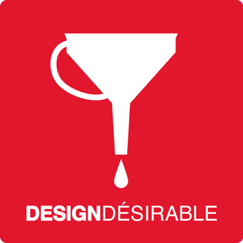 logo agence design desirable